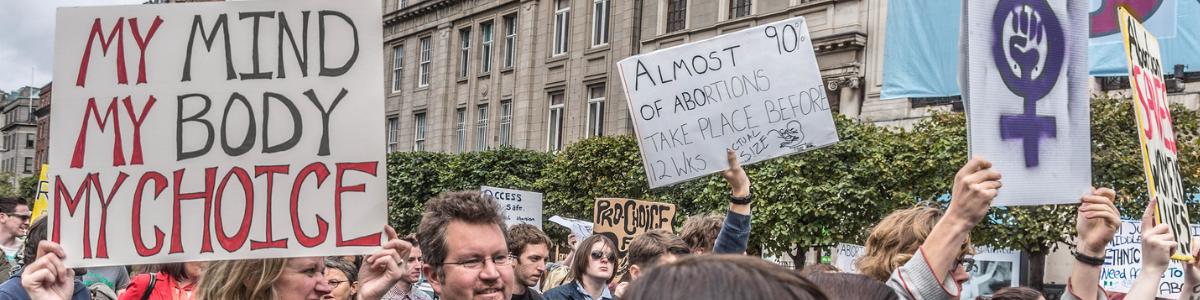 Manifestation pour l'avortement