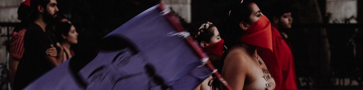 Manifestation chili F.Vincencio