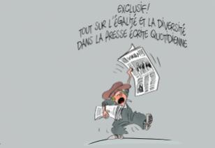 Etude de la diversité et de l'égalité dans la presse quotidienne belge francophone