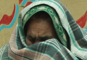 Femme réfugiée