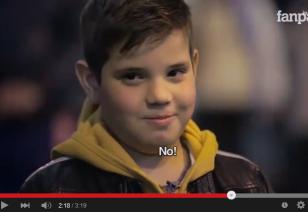 """Slap her"": children's reactions"