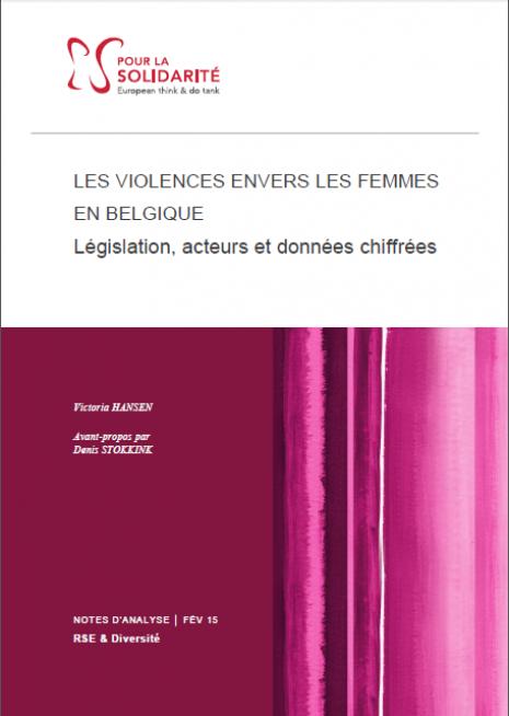 Couverture violences femmes belgique