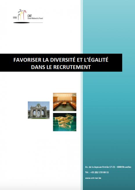 CNT, favoriser la diversité et l'égalité dans le recrutement