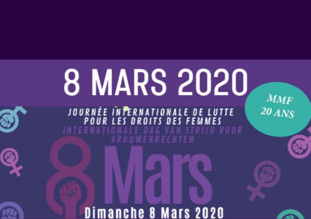 marche, femmes, 8 mars, féminisme